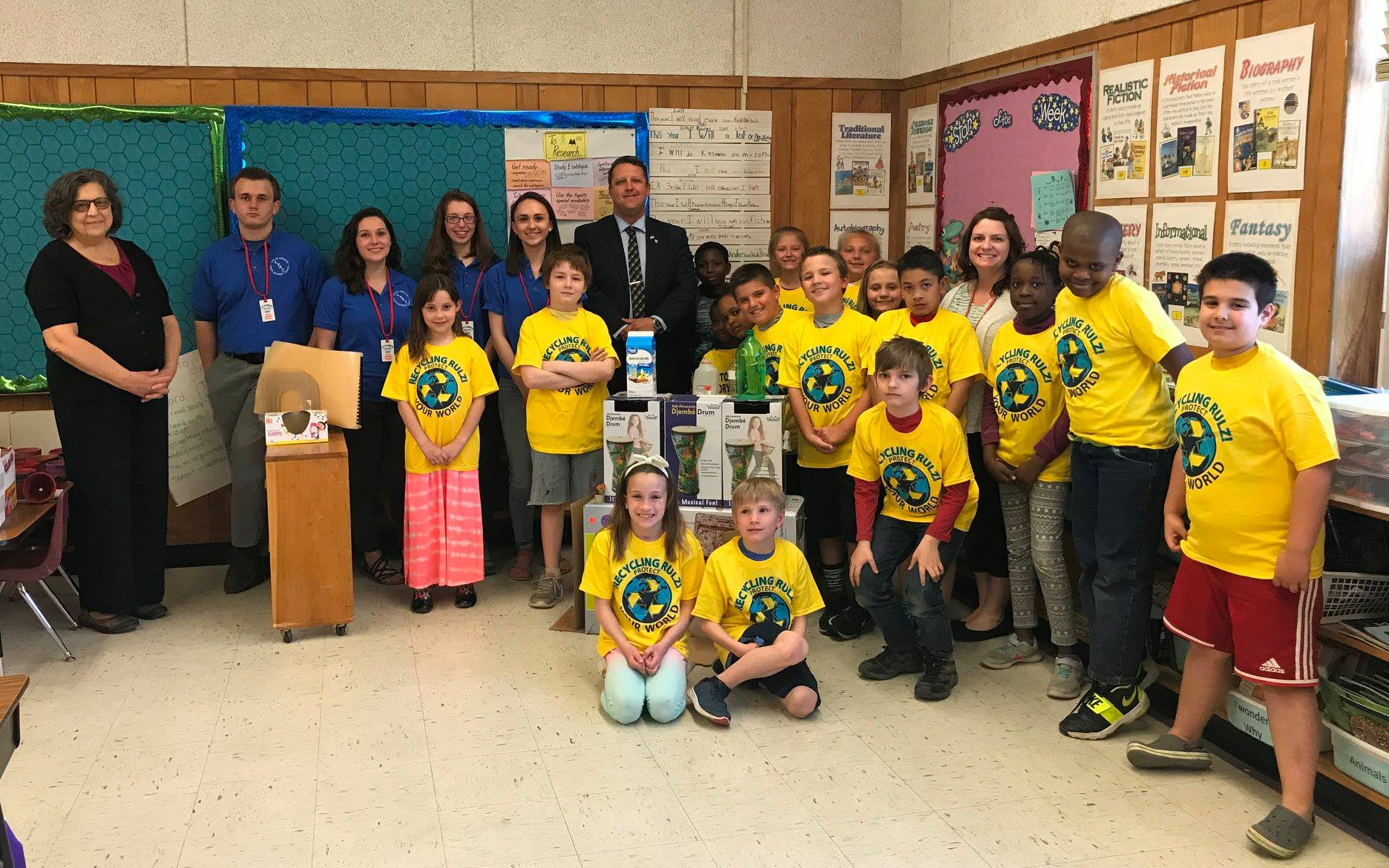 LYAC - RECYCLING CONTEST 2018 WINNING CLASS